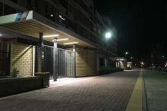 """Уличное освещение в жилом районе """"Солнечный"""""""