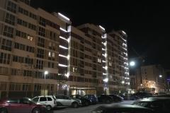 """Архитектурная подсветка в жилом районе """"Солнечный"""""""